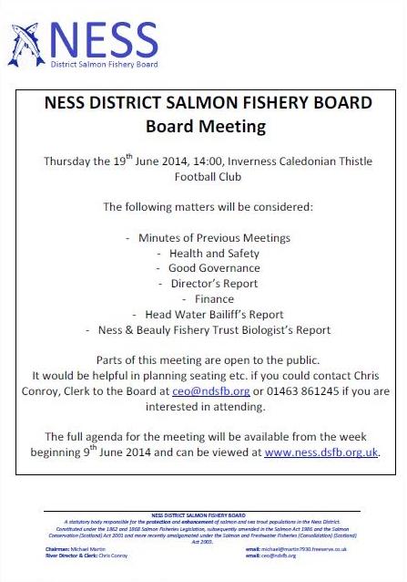 June 2014 Meeting Notification